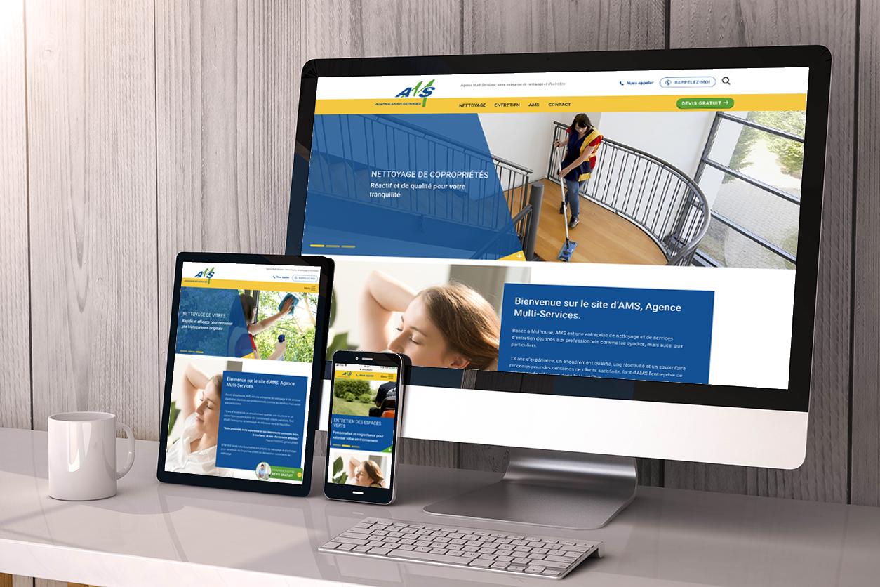AMS, vous présente son nouveau site Web !