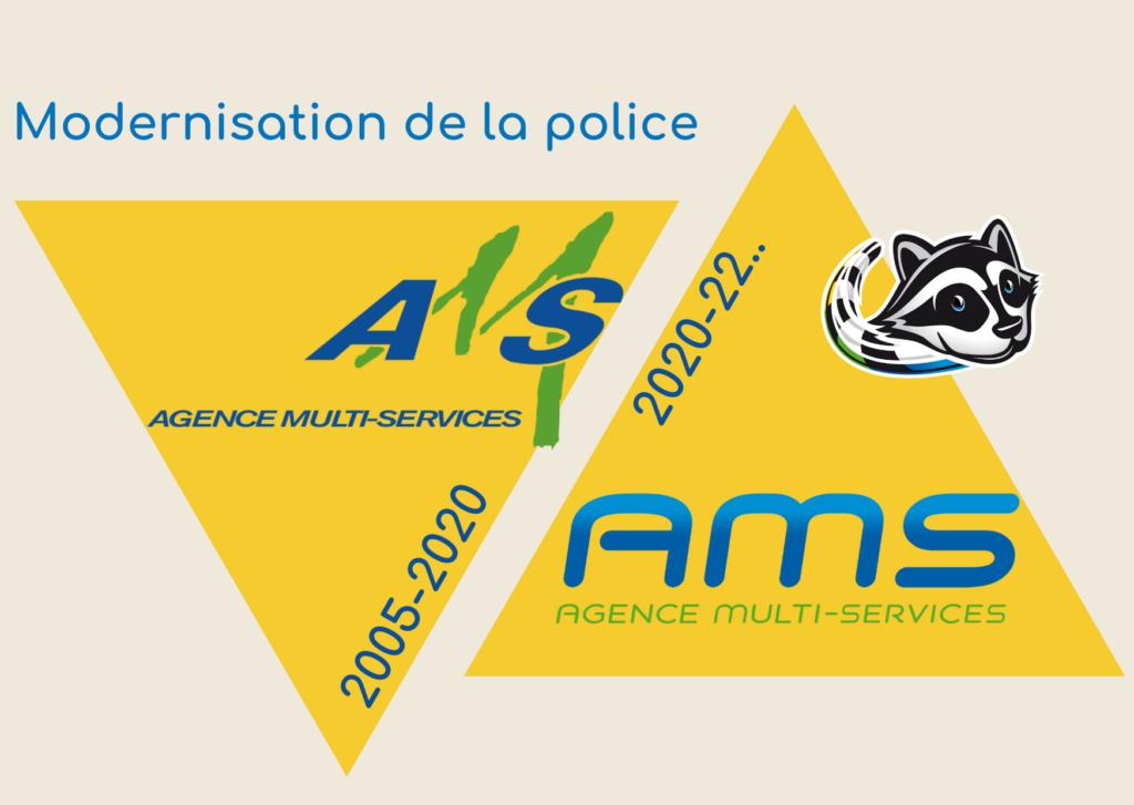 Nouvelle police plus moderne du logo